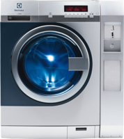 Electrolux Professional Waschmaschine Set WE Solo (WE170PP ZIP + B11COINBOX) Edelstahl