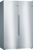 Bosch Side by Side,  KAF95PI4P (KSF36PI4P+GSN36AI4P+KSZ39AL00) Edelstahl-Chrom-Inoxmetallic