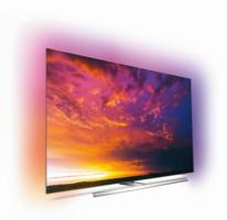 Philips TV OLED-Fernseher 55OLED854/12 Chrom