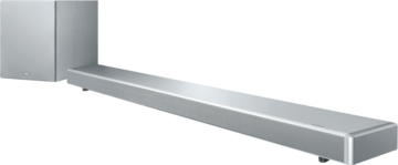 Yamaha  YSP-2700 Silber, Soundbar, 107 Watt maximale Gesamtleistung, 7.1 Kanal-System