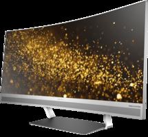 Hewlett Packard LED-Monitor ENVY 34 Curved Display Schwarz-Silber
