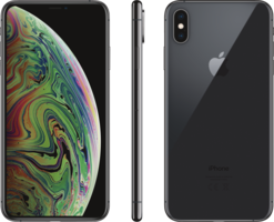 Apple Smartphone iPhone XS Max 64GB Space Grau