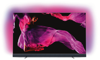 Philips OLED-Fernseher 65OLED903/12 Silber