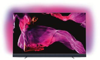 Philips OLED-Fernseher 55OLED903/12 Silber