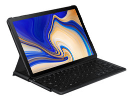 SAMSUNG T835 Tab S4 26,72cm 10,5Zoll 4+64GB LTE black + Book Cover + Book Cover Keyboard