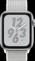 Apple Watch Smartwatch Watch Nike+ Series 4 GPS + Cellular, Alu gipfle-we. Arm Silber